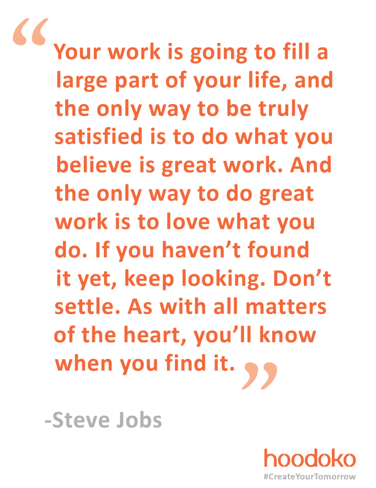 Words of Wisdom from Steve Jobs