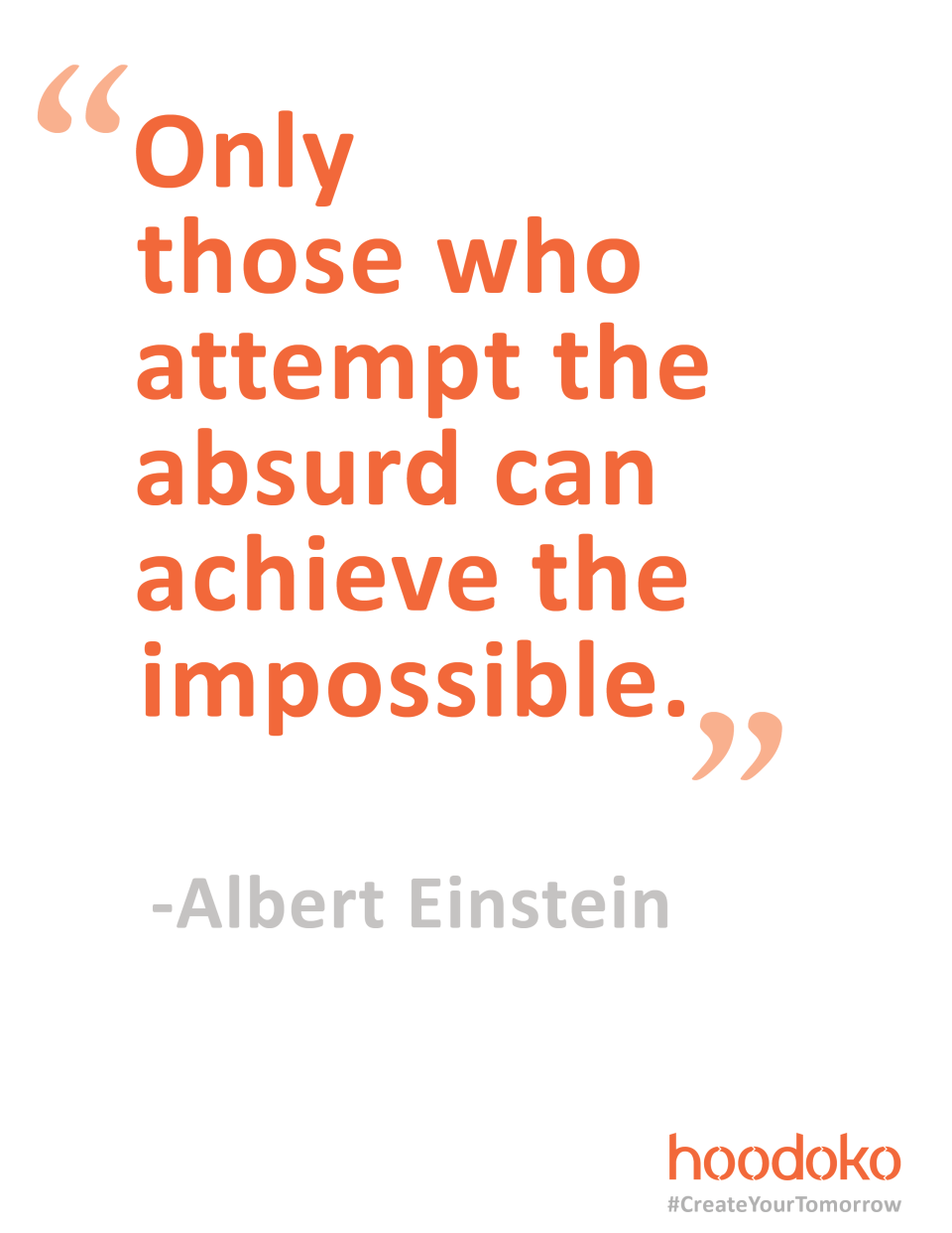 INSPIRATION FROM ALBERT EINSTEIN