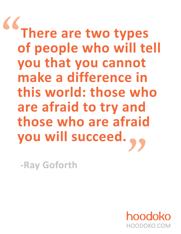 Thoughts from Ray Goforth